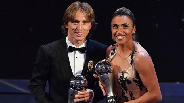 Luka Modric FIFA's The Best